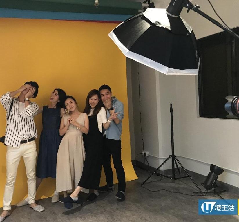 Photobi為韓式團體相提供衣服出租和化妝服務。