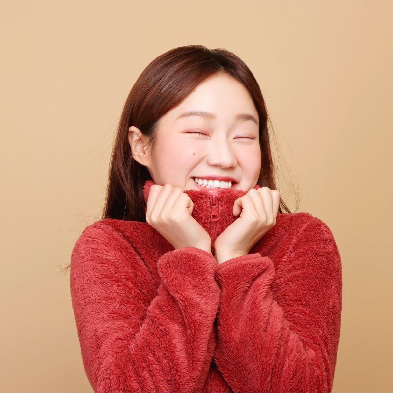 拍攝韓式半身個人風格照時,我們會按照每位顧客的需要提供動作指導。