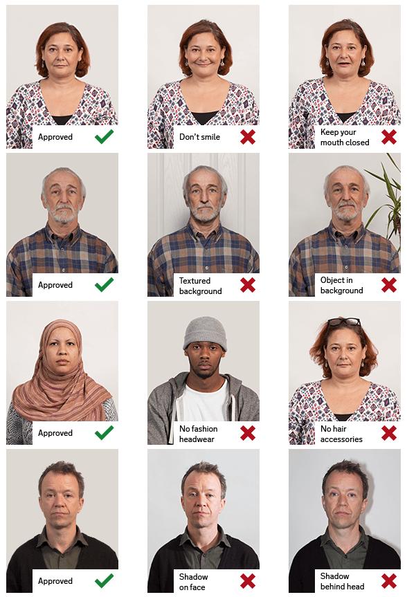 英國護照 | BNO 照片樣本