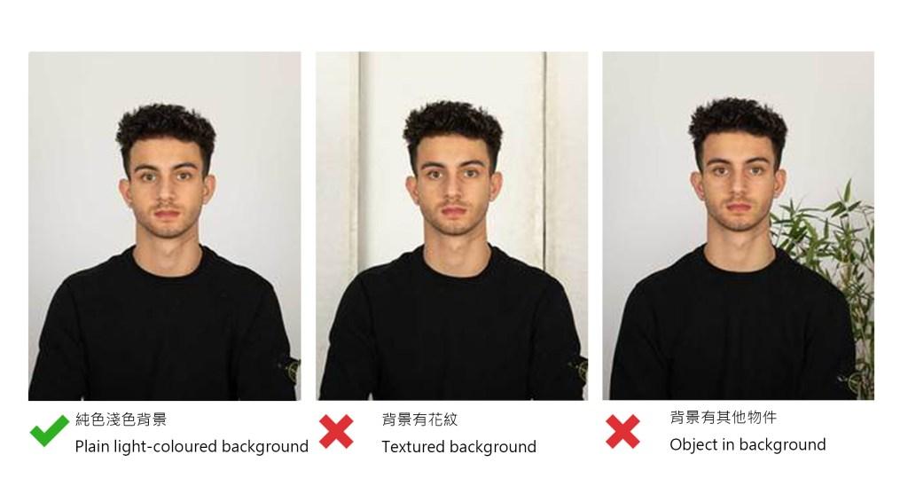 BNO photo background requirement